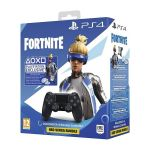 Sony DualShock 4 Black V2 PS4 + Fortnite Neo Versa Bundle