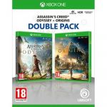 Jogo Assassin's Creed Odyssey + Assassin's Creed Origins Double Pack Xbox One