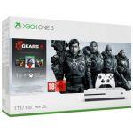 Consola Microsoft Xbox One S 1TB White + Gears of War 5