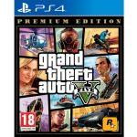 Jogo Grand Theft Auto V Premium Edition PS4