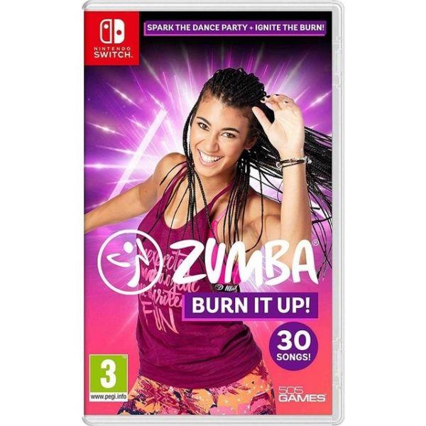 Jogo Zumba Burn It Up Nintendo Switch
