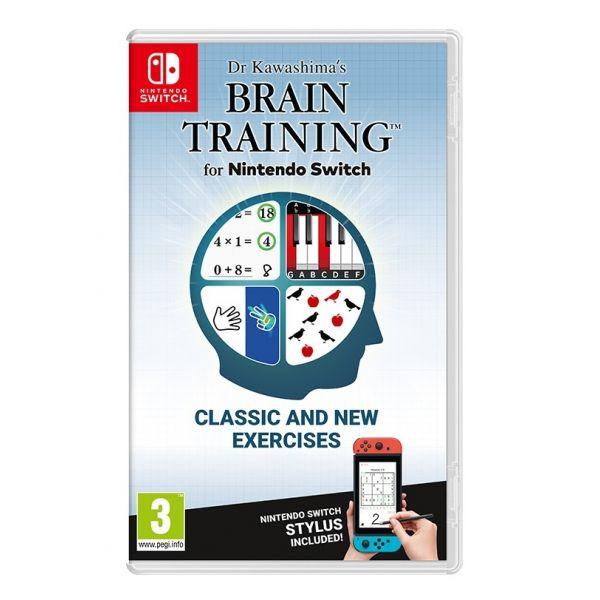 Jogo Dr Kawashima's Brain Training Nintendo Switch