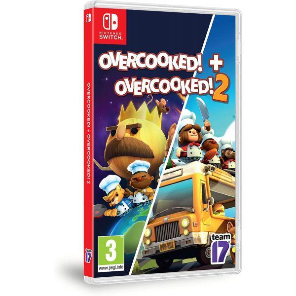 Jogo Overcooked! + Overcooked! 2 Double Pack Nintendo Switch