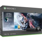 Consola Microsoft Xbox One X 1TB Black + Star Wars Jedi Fallen Order
