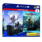 Consola Sony PlayStation 4 PS4 Pro 1TB + Horizon Zero Dawn Complete Edition + God of War PS4