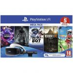Sony PlayStation VR Mega Pack 2 + Camera PS4 + 5 Jogos