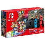 Nintendo Switch Neon Blue/Red V2 + Mario Kart 8 Deluxe