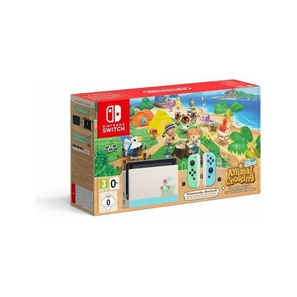 Consola Nintendo Switch Edição Animal Crossing: New Horizons