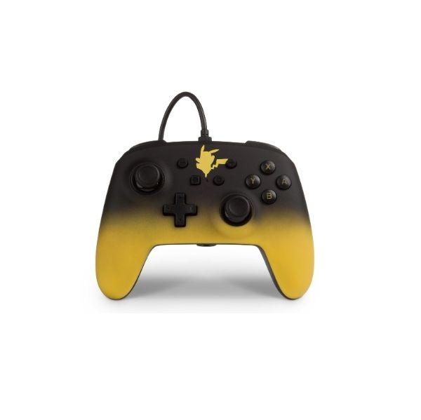 PowerA Comando com fios Pokemon Pikachu Fade Nintendo Switch