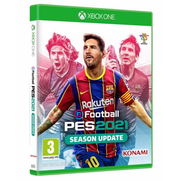 Jogo Pro Evolution Soccer 2021 Xbox One