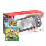 Nintendo Switch Lite Grey + Animal Crossing: New Horizons