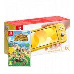 Nintendo Switch Lite Yellow + Animal Crossing: New Horizons