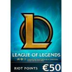 League of Legends Gift Card 50EUR - 7200 Riot Points / 5025 Valorant Points - Eu West Server Only