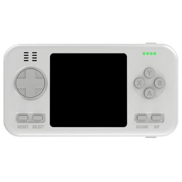 Consola Portatil + Powerbank 416 Jogos Branco - 54258