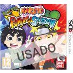 Jogo Naruto Powerful Shippuden 3DS Usado