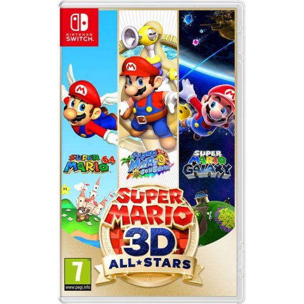 Jogo Super Mario 3D All Stars Nintendo Switch