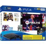 Sony PlayStation 4 PS4 Black 500GB + FIFA 21