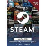 Steam Wallet Gift Card 50 Eur Steam Download Digital Eu