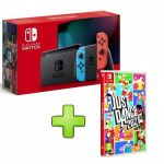 Nintendo Switch Neon Blue/Red V2 + Just Dance 2021