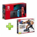 Nintendo Switch Neon Blue/Red V2 + Labo Robot Kit