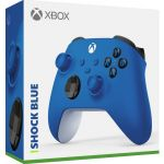 Microsoft Comando sem Fios Shock Blue Xbox One