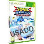 Jogo Sonic and SEGA All-Stars Racing Xbox 360 Usado