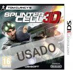 Jogo Tom Clancy's Splinter Cell 3D Nintendo 3DS Usado