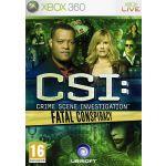 Jogo CSI Crime Scene Investigation Fatal Conspiracy Xbox 360