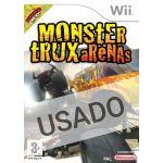 Jogo Monster Trux Arenas Wii Usado