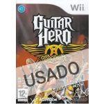 Jogo Guitar Hero AeroSmith Wii Usado