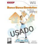 Jogo Dance Dance Revolution Hottest Party 2 Wii Usado
