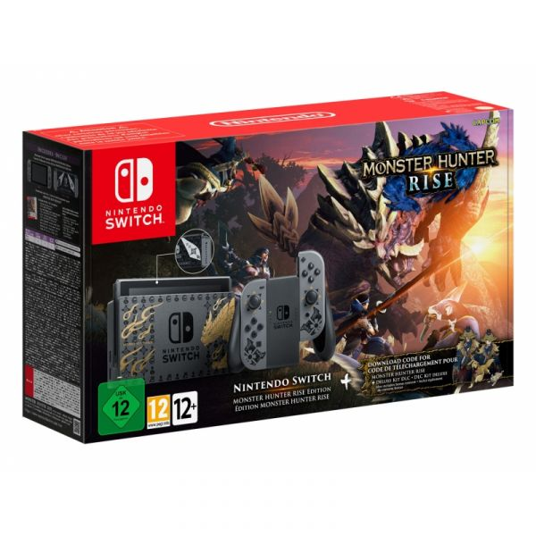 Nintendo Switch V2 Monster Hunter Rise Edition