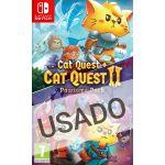 Jogo Pawsome Pack Cat Quest + Cat Quest 2 Nintendo Switch Usado