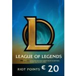 League of Legends Gift Card 20EUR - 2800 Riot Points / 1950 Valorant Points - Europe Server Only