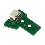 Placa de Circuito de Carregamento Dualshock4 PS4 Playstation4 JDS-050 JDS-055 Conector Flex Micro usb 12Pin - 8435325345475