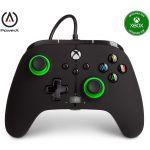 PowerA Comando Enhanced Black / Green Xbox Series X