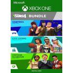 Jogo The Sims 4 Bundle City Living, Vampires, Vintage Glamour Stuff Xbox Live Key Europe