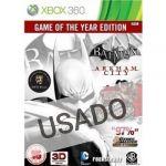 Jogo Batman Arkham City GOTY Edition Xbox 360 Usado