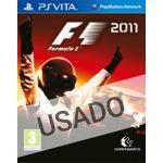 Jogo F1 2011 PS Vita Usado