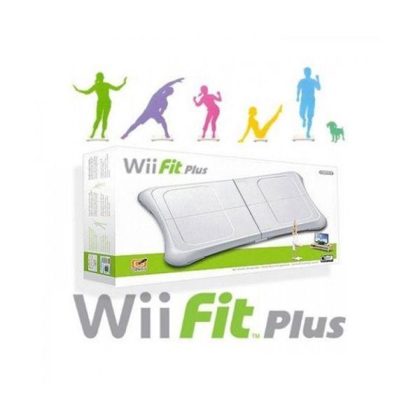 Jogo Wii Fit Plus + Wii Balance Board White