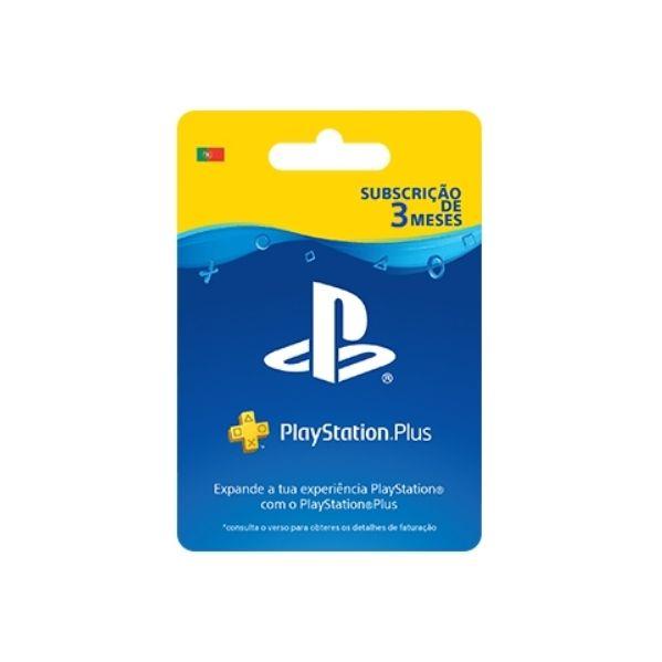 Playstation Plus Subscrição 90 Dias