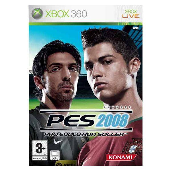 Jogo Pro Evolution Soccer 2008 XBox 360 Usado