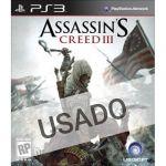 Jogo Assassins Creed III PS3 Usado