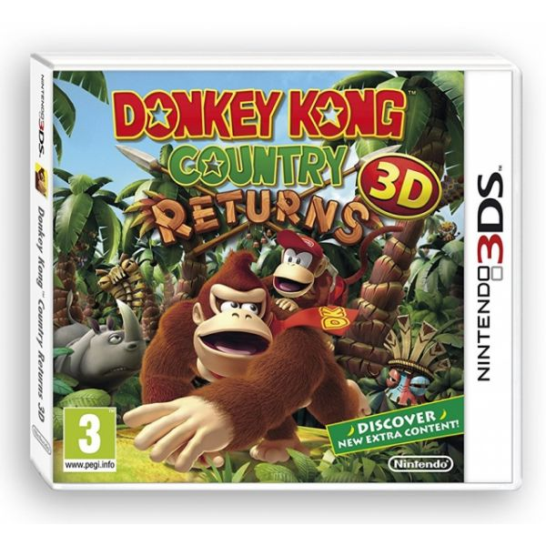 Jogo Donkey Kong Country Returns 3D 3DS