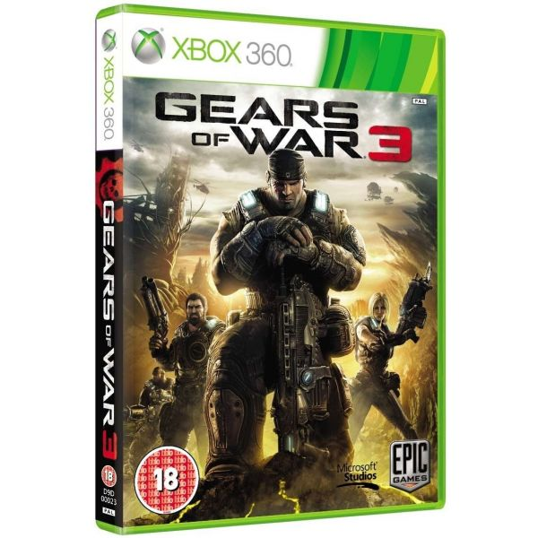 Jogo Gears Of War 3 Xbox 360 Usado