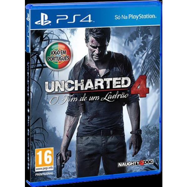 Jogo Uncharted 4: A Thief's End PS4