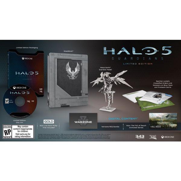 Jogo Halo 5 Guardians Limited Edition Xbox One