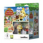 Jogo Animal Crossing Amiibo Festival Wii U + 2 Figuras Amiibo + 3 Cartões Amiibos