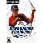 Tiger Woods PGA Tour 2001 PC Usado