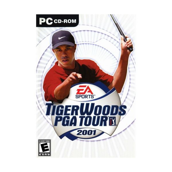 Tiger Woods PGA Tour 2001 PC Usado